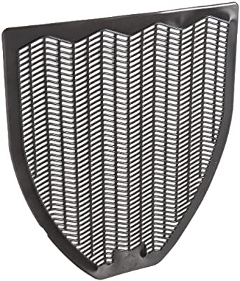 """Impact Products 1525-5 Non-Skid Disposable Urinal Floor Mat, 17-1/2"""" Width x 20-3/8"""" Length, Black (Pack of 6)"""