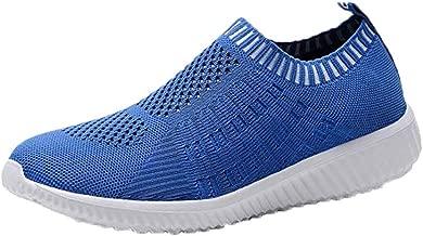 Mujer Calzado Deportivo Casual Respirable Zapatos de Espuma Liviano Fitness Deportivo Entrenadores para