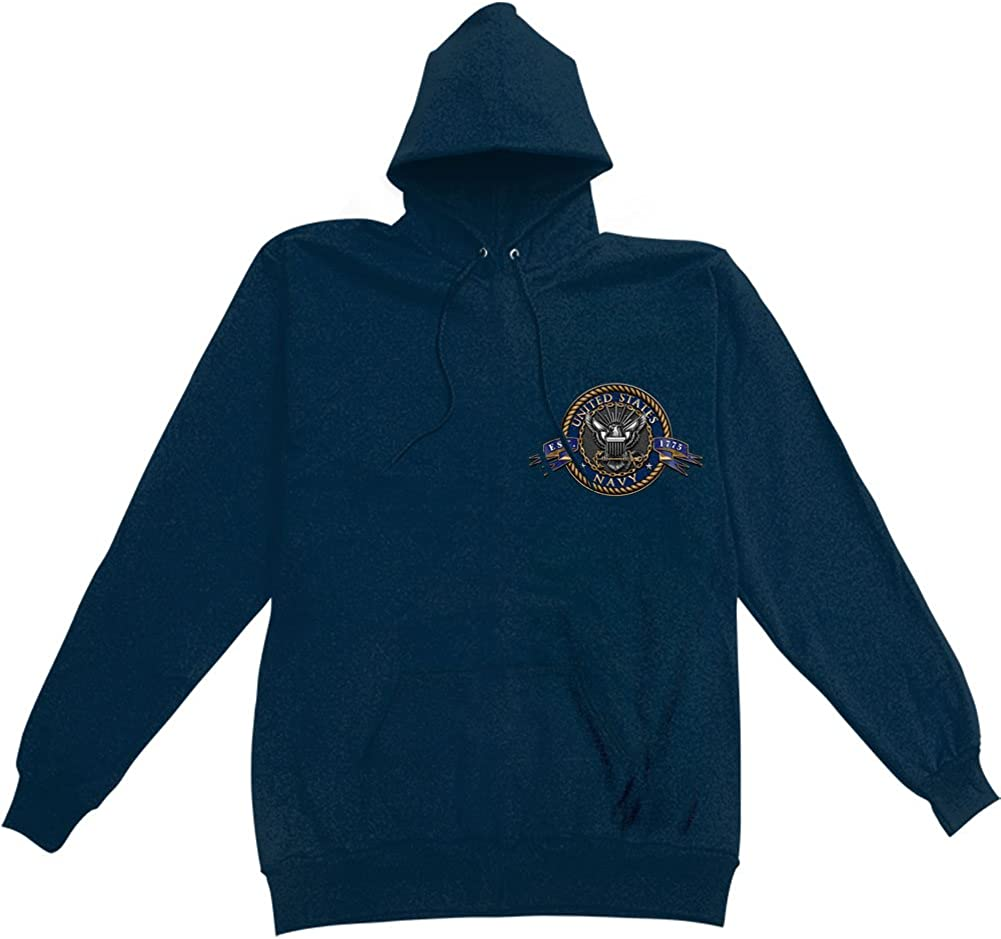USN HOODIE Navy The Sea Is Sweat MM130SW Large-scale sale Ours Hooded Max 78% OFF shirt
