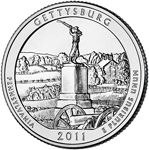 2011-D-Gettysberg-National-Park-P-40-Coin-Bankroll-Uncirculated