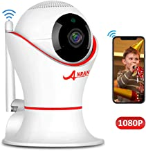 HD 1080P 360 Home Wireless Security Dome IP Camera with 3D Navigation Panorama View Night Vision Two-Way Audio, Motion Detection, 2.4Ghz Indoor Surveillance for Home, Baby, Elder, Pet
