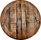 Rustic Home Decor Whiskey Barrel Head Makers Mark Distillery Stamped Bourbon Bar Sign Man cave Accessories for Room