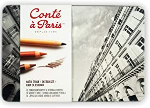 Conté à Paris The Sketch Set with Assorted Sketching Pencils