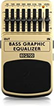 Behringer BEQ700 7 Band Bass Graphic Equalizer for Bass and Keyboard