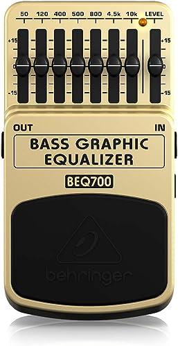 Behringer Bass Graphic Equalizer / BEQ700 Égaliseur graphique pour basse 7 bandes (Import Royaume Uni)