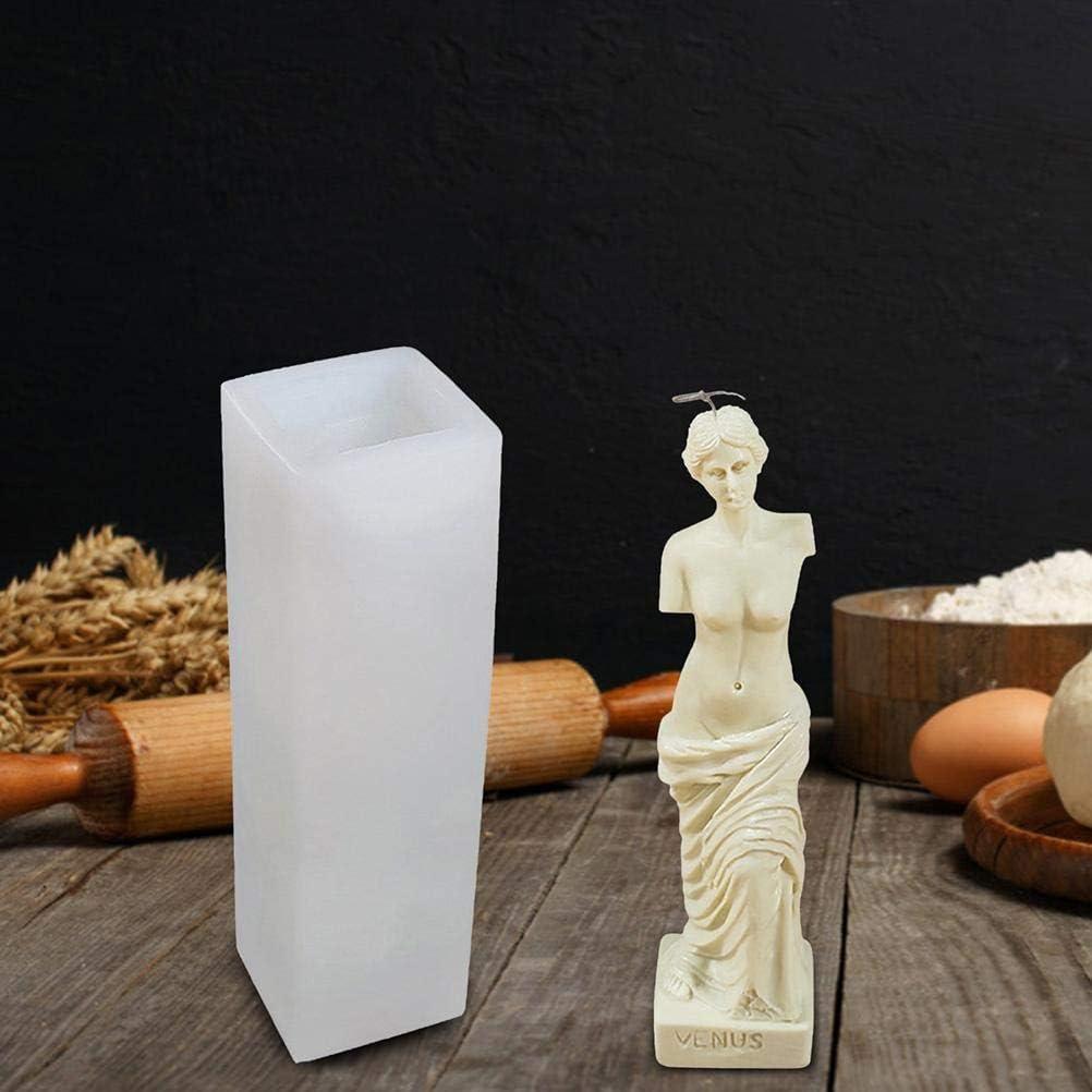 R/ömische Vener-G/öttin Rlevolexy Silikonform f/ür Kerzen handgefertigt 3D-Kerzen Silikonform