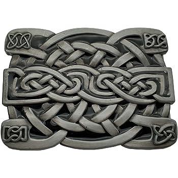 YONE Hebilla de cintur/ón Led Zeppelin Keltic Design Rock Music Belt Buckle