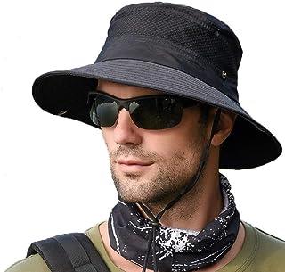 comprar comparacion anaoo Sombrero de Hombre Gorra de Verano Sombrero Pesca del Sol Gorra al Aire Libre Sombrero Playa Plegable De ala Ancha P...