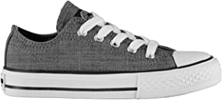 SoulCal Kids Canvas Trainers Sneakers Sports Shoes Low Childs