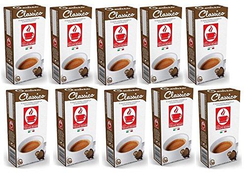 Classico Kaffeekapseln - 200 Stück (20 Pack à 10 Kapseln) Kompatible Kaffeekapseln von Caffè Bonini Italien. Kompatibel für Nespresso* Maschinen