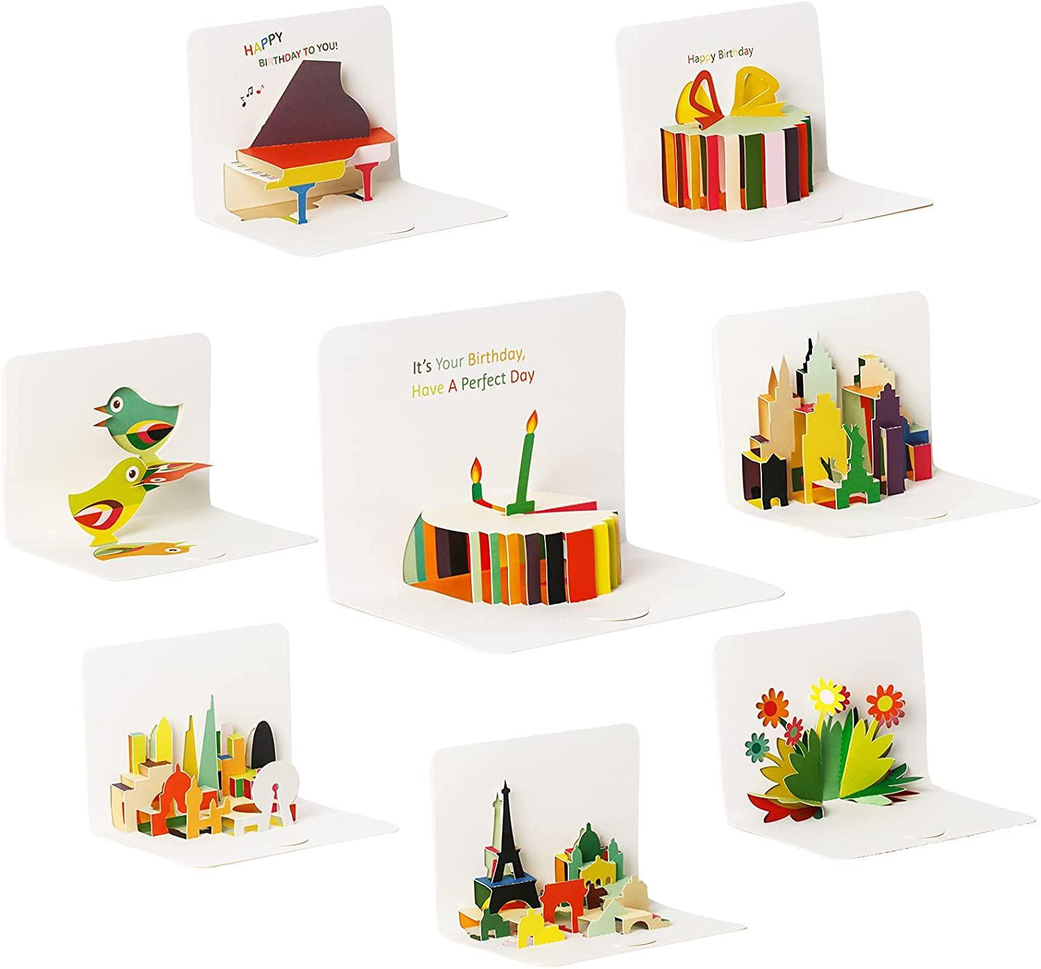 8 Pop Limited price sale Up Cards All and Greeting Free shipping on posting reviews Occasion Envelopes Blank