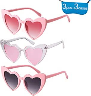 71f50cc6fe Retro Vintage Clout Goggle Heart Sunglasses Cat Eye Mod Style for Women  Kurt Cobain Glasses Plastic