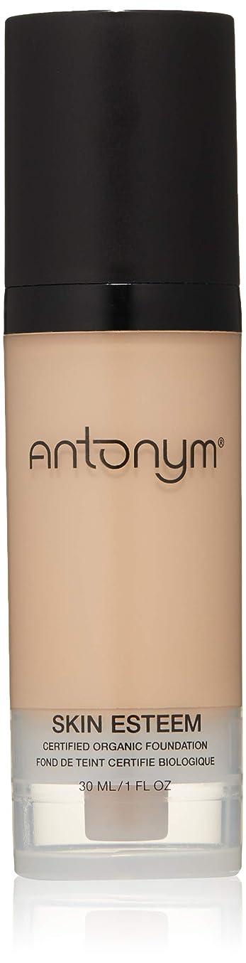真鍮維持忌まわしいAntonym - Skin Esteem Organic Liquid Foundation Beige Medium