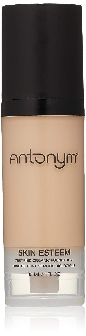 赤外線案件基準Antonym - Skin Esteem Organic Liquid Foundation Beige Medium
