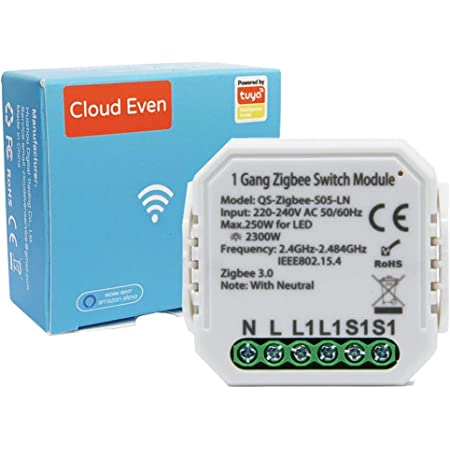 ZigBee interruttore tuya intelligente (1gang switch)