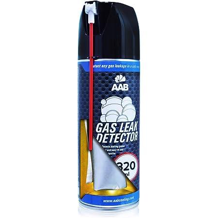 AABCOOLING Gas Leak Detector 320ml - Spray Détecteur de Fuite de Gaz, Detecteur de Fuite, Bombe Detecteur de Fuite, Detecteur Fuite Climatisation, Testeur Gaz, Detecteur Gaz Butane