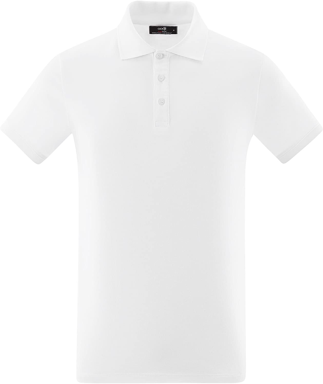 oodji Ultra Uomo Polo Basic in Cotone