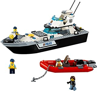 LEGO City Police Patrol Boat 60129 Building Toy