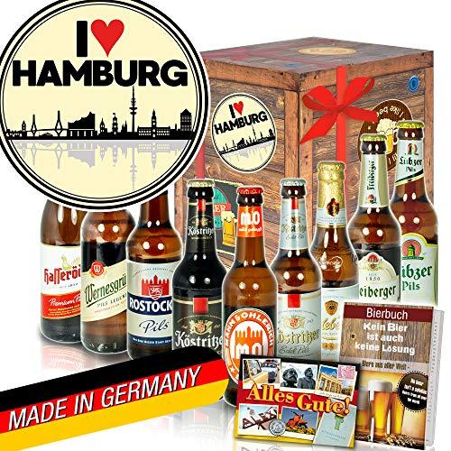 I love Hamburg - Geschenke aus Hamburg - Ostdeutsche Biersorten