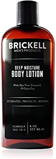 Brickell Men's Deep Moisture Body Lotion for Men - 8 oz - Natural & Organic