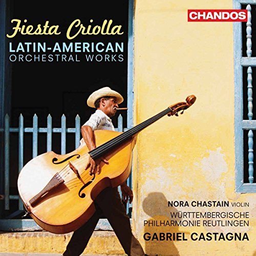 Fiesta Criolla Oeuvres Latino-Américaines Pour Orchestre