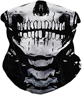 Seamless Face Mask Bandanas for Dust, Outdoors, Festivals, Sports