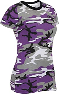 Womens Long Length Camo T-Shirt