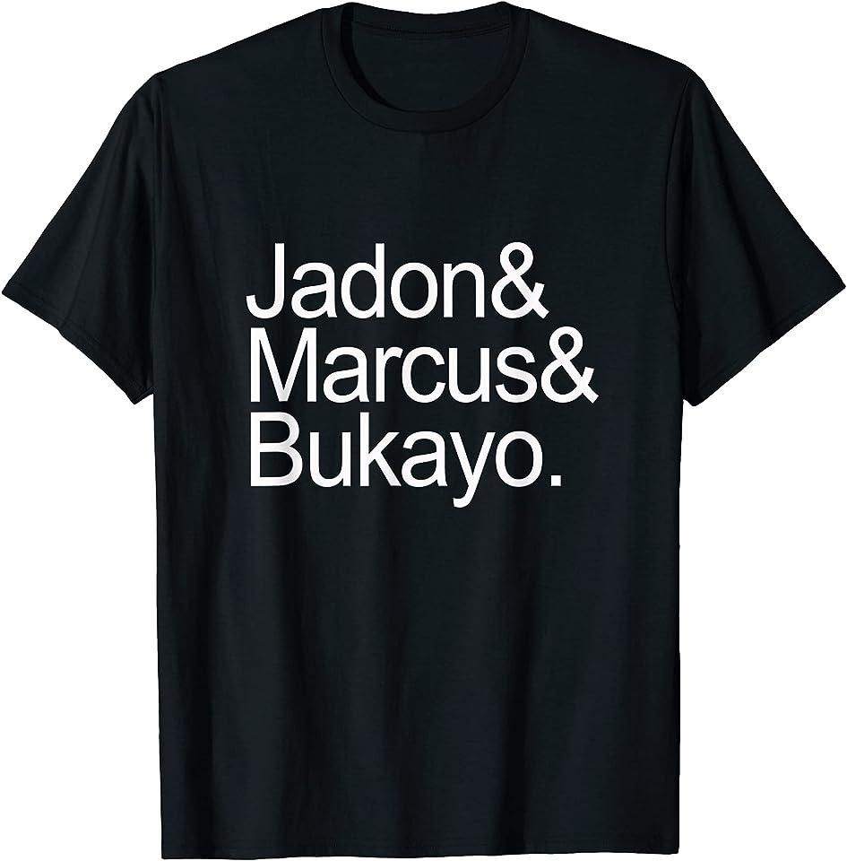 Jason & Marcus & Bukayo Shirt BLM Anti Racism Jadon T-Shirt