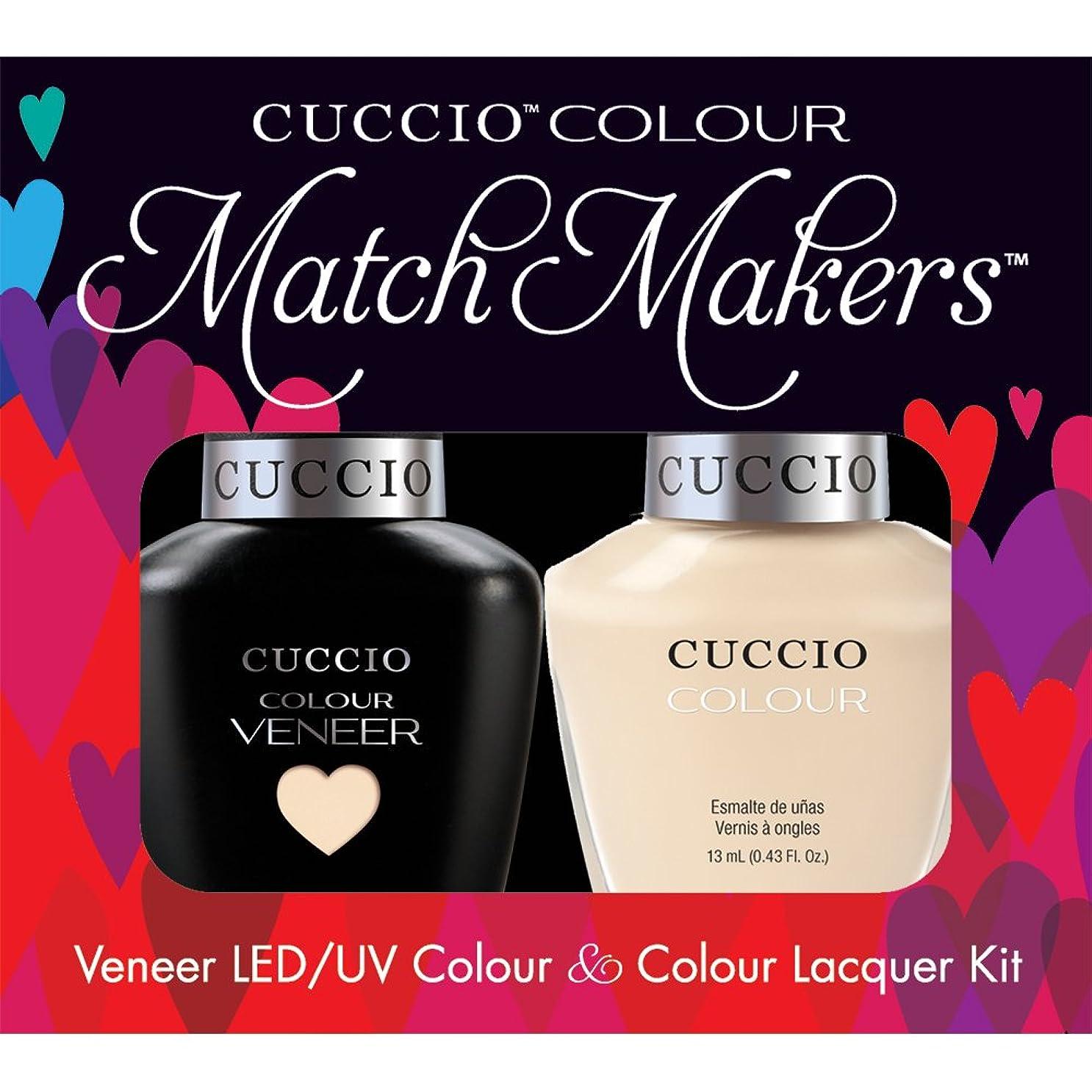 名誉ある不平を言う流Cuccio MatchMakers Veneer & Lacquer - So So Sofia - 0.43oz/13ml Each