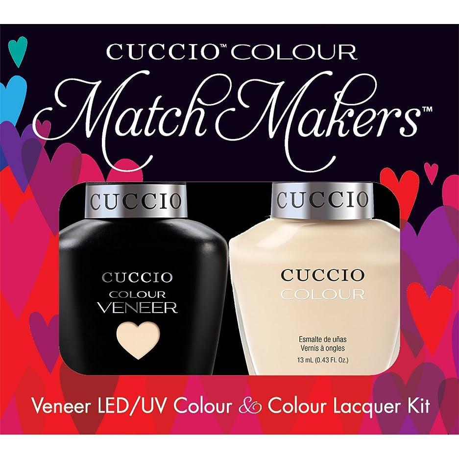 パシフィックアコードアンカーCuccio MatchMakers Veneer & Lacquer - So So Sofia - 0.43oz/13ml Each