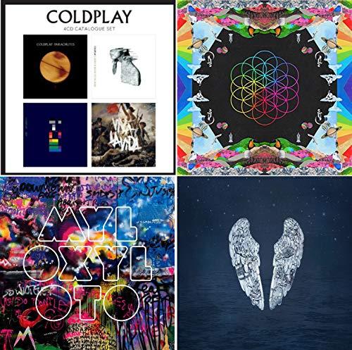 Coldplay Complete Studioalbum Box - Coldplay Greatest Hits 7 CD Bundling