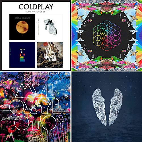 Coldplay Complete Studioalbum Box - Coldplay Greatest Hits 7 CD Bundling