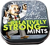 The Unemployed Philosophers Guild Einstein Relatively Strong Mints - 1 Small Tin 1.75 x 1.75