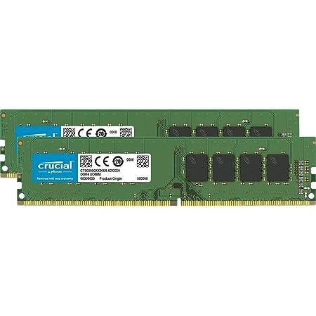 Crucial 増設メモリ CT2K16G4DFD832A [DIMM DDR4 /16GB /2枚]
