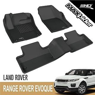 3D MAXpider L1LR01801509 Complete Set Custom Fit All-Weather Floor Mat for Select Land Rover Range Rover Evoque Models - K...