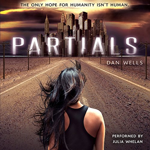 Partials audiobook cover art