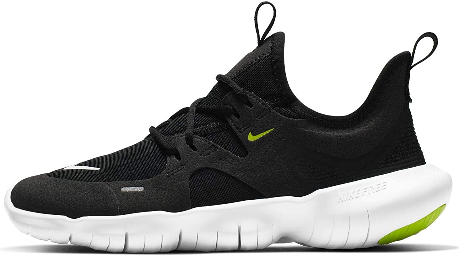 Nike Unisex Adults Free Rn 5.0 (gs) Track & Field shoes, Multicolour (Black White Anthracite Volt 000), 6 UK