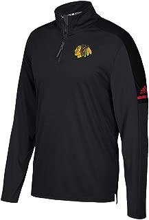 adidas Chicago Blackhawks NHL Authentic Pro 1/4 Zip Pullover