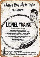 Lionel Toy Trains ティンサイン ポスター ン サイン プレート ブリキ看板 ホーム バーために