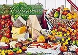 Culinaria 2017 - Der große Küchenkalender - Bildkalender (42 x 60 geöffnet) - Rezeptkalender - Küchenplaner