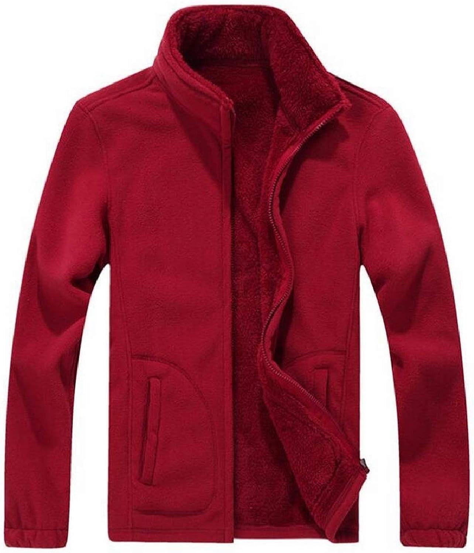 TymhgtCA Mens Contrast color Cardigan Full Zip Stand Collar Bomber Coat Sweatshirt