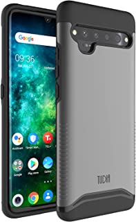 Sponsored Ad - TUDIA DualShield Designed for TCL 10 Pro Case, [Merge] Heavy Duty Protection Slim Hard Shell Phone Case for...
