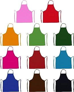 TRENDBOX Bib Apron Adult Women Unisex Durable Comfortable Front Pocket Washable Cooking Baking Kitchen Restaurant Crafting...