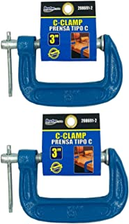 BRUFER 208691-2 C-Clamps with 3