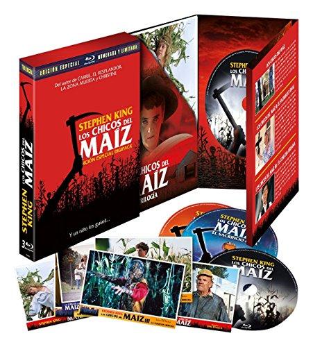 Los Chicos del Maíz I-II-III Edición Digipack [Blu-ray]