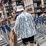 Disfraces Hombres Mujeres Harajuku Kimono Japonés Tradicional Yukata Chaquetas China Batas Cardigan Blusa Suelta Asian Coats Cosplay Zzzb (Color : White, Size : S)