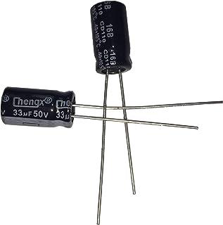 NTE Electronics NEV.10M100AA Series NEV Aluminum Electrolytic Capacitor 20/% Capacitance Tolerance 0.10/µF Capacitance 100V Inc. Radial Lead