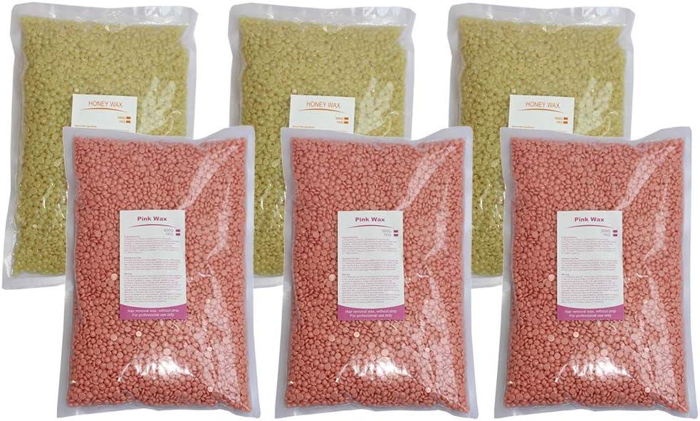 Baosity 6Pcs In stock Depilatory National uniform free shipping Hot Hard Beads Beans Wax Effectiv Bikini