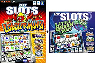 IGT Slots: Little Green Men & Lucky Larry's Lobstermania 2 Pack Bundle - PC/MAC