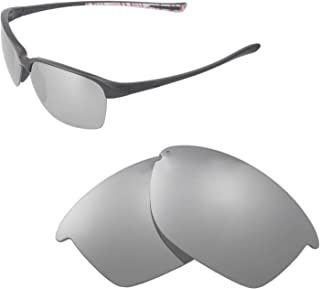 Walleva Replacement Lenses for Oakley Unstoppable Sunglasses - Multiple Options Available